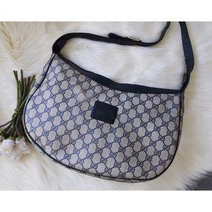 Gucci GG Monogram Saddle Bag